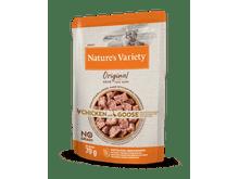 Aliment humit Natures Variety (True Instinct) gat original no grain pollastre i oca 70gr