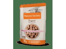 Aliment humit Natures Variety (True Instinct) gat original no grain bou i pollastre 70gr