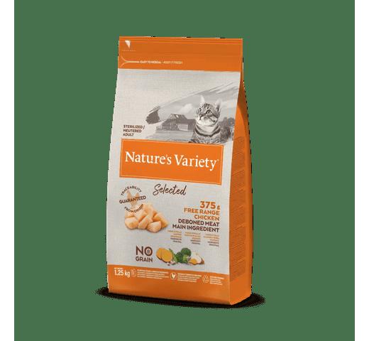 Pinso Natures Variety (True Instinct) gat selected esterilitzat pollastre 1
