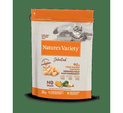 Pinso Natures Variety (True Instinct) gat selected esterilitzat pollastre 0,3kg 1