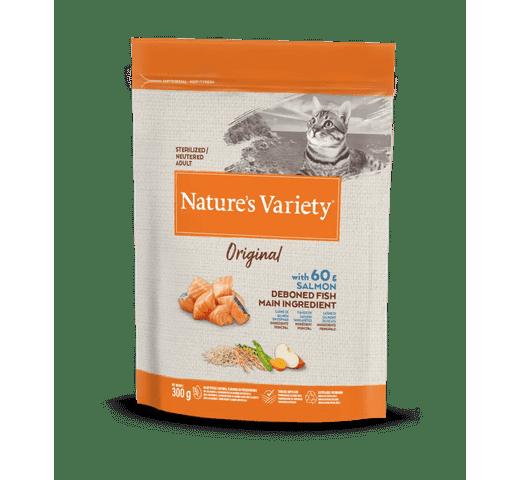 Pinso Natures Variety (True Instinct) gat original esterilitzat salmó 0,3kg 1