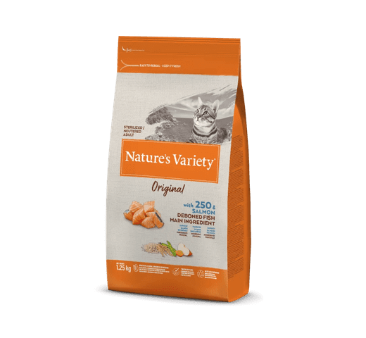 Pinso Natures Variety (True Instinct) gat original esterilitzat salmó 1,25kg 1