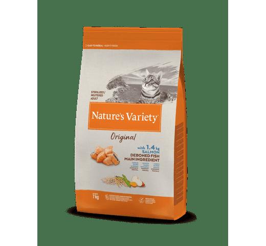 Pinso Natures Variety (True Instinct) gat original esterilitzat salmó 7kg 1