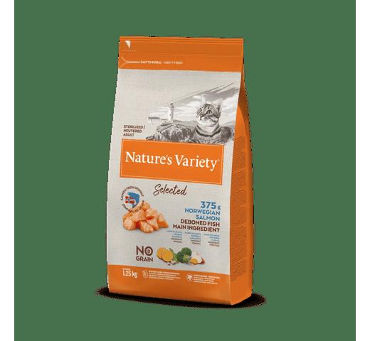 Pinso Natures Variety (True Instinct) gat selected esterilitzat salmó 1,25kg 1