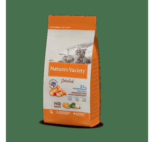 Pinso Natures Variety (True Instinct) gat selected salmó 7kg 1