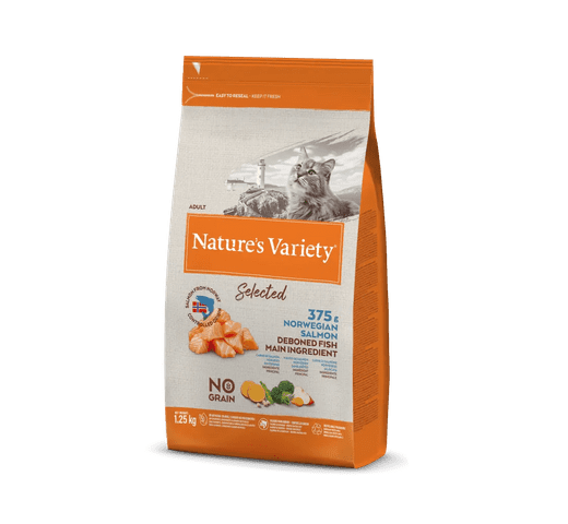 Pinso Natures Variety (True Instinct) gat selected salmó 1