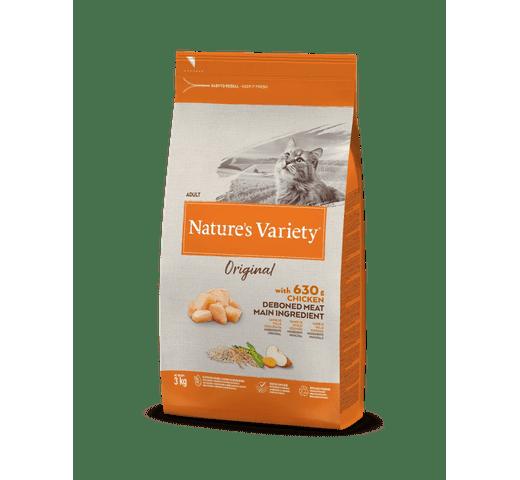 Pinso Natures Variety (True Instinct) gat original pollastre 3kg 1