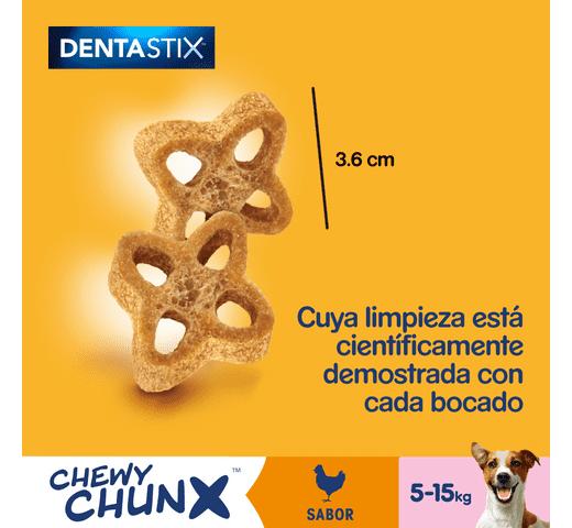 Snack dental Pedigree gos chewy chunks petit 68gr 2