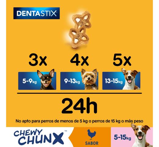 Snack dental Pedigree gos chewy chunks petit 68gr 3