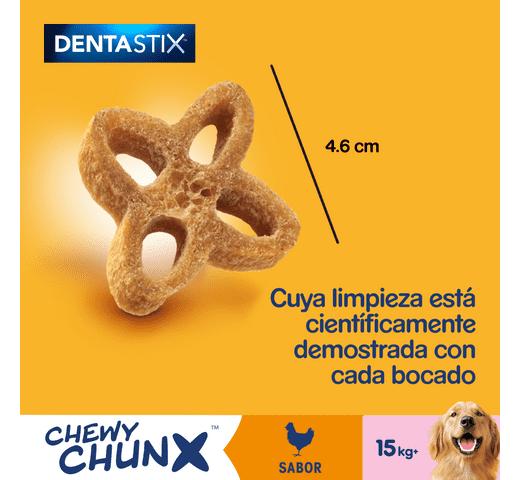 Snack dental Pedigree gos chewy chunks mitjà 68gr 2