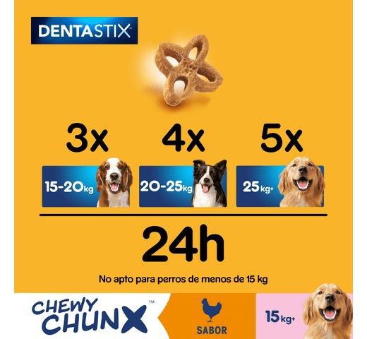 Snack dental Pedigree gos chewy chunks mitjà 68gr 3