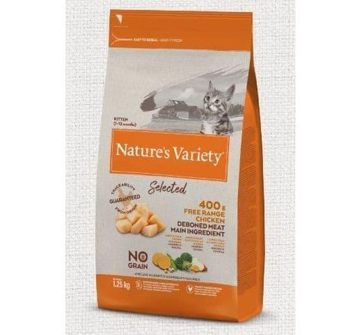 Pinso Natures Variety (True Instinct) gat selected kitten pollastre 1