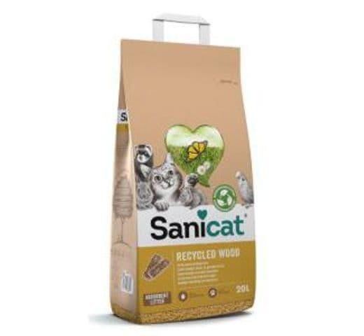 Substrat de fusta Sanicat Tolsa recycled wood 20lt 1