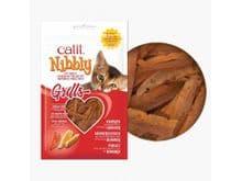 Snack natural CATIT cat nibbly grills pollastre-llagosta 30gr
