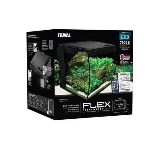 Aquari Fluval Flex kit negre 2
