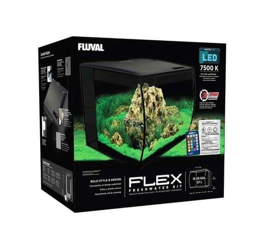 Aquari Fluval Flex kit 57L negre 2