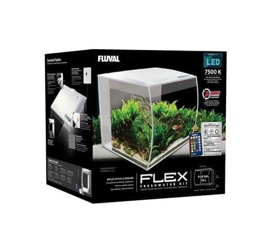 Aquari Fluval Flex kit blanc 2