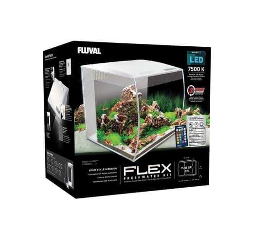 Aquari Fluval Flex kit 57L blanc 2