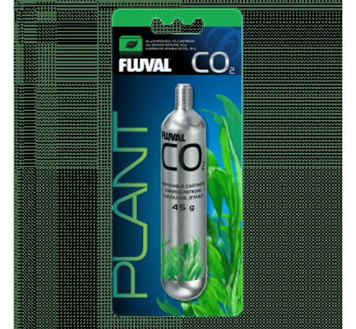 Complement aquari Fluval CO2 cartutx d'un sol ús 45gr 1un 1