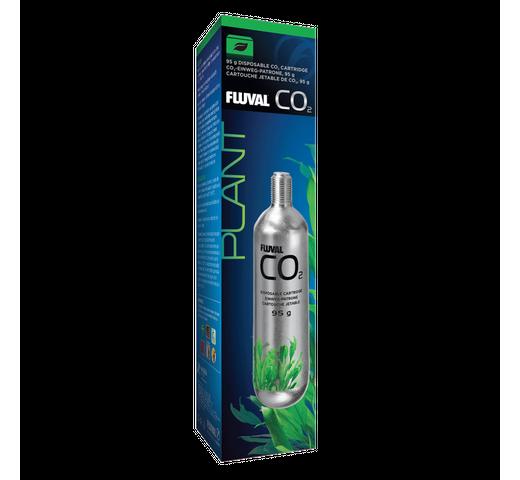 Complement aquari Fluval CO2 cartutx d'un sol ús 95gr 1un 1