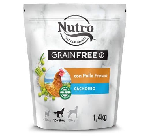 Pinso Nutro Grain free gos puppy pollastre 1