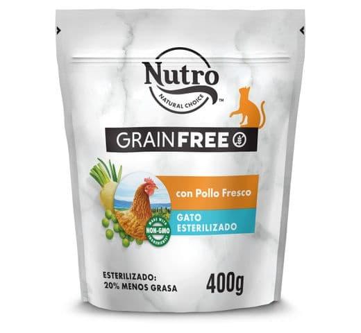 Pinso Nutro Grain free gat sterilized pollastre 2