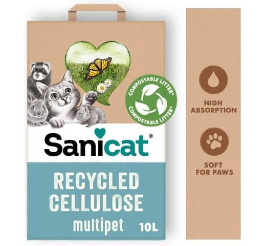 Substrat de paper Sanicat Tolsa Sanicat recycled celulose 10 lt 2