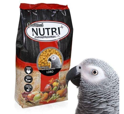 Pinso Nutri+ extrusionat gourmet per lloros 1