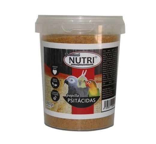 Pasta de cria i papilla Nutri+ papilla gourmet per psitàcides 1