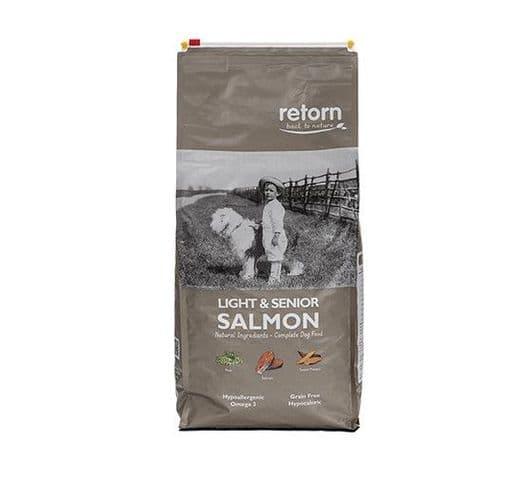 Pinso Retorn gos light & senior salmó 1
