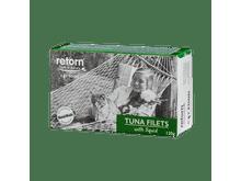 Aliment humit Retorn gat filets tonyina i calamar 120gr