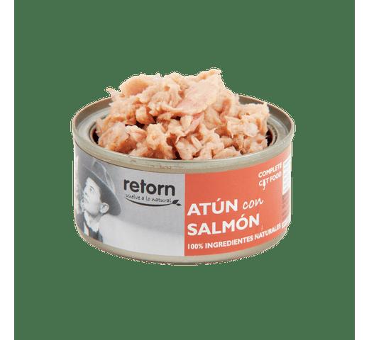 Aliment humit Retorn gat tonyina i salmó 80gr 1