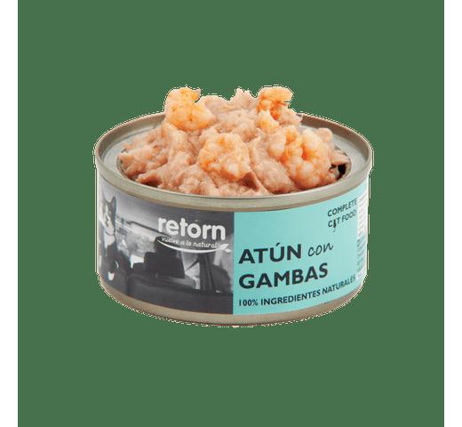 Aliment humit Retorn gat tonyina i gambes 80gr 1