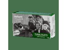 Aliment humit Retorn gat filets tonyina i salmó 120gr