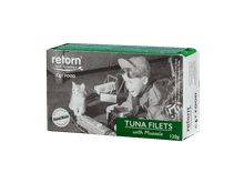 Aliment humit Retorn gat filets tonyina i musclos 120gr
