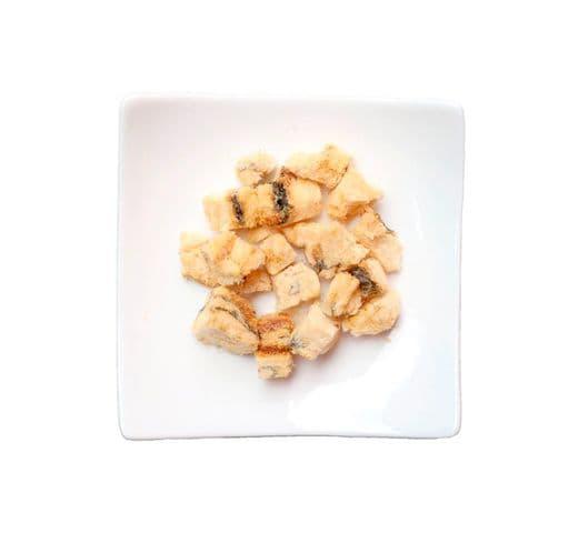 Snack natural Kit Cat Freezbites bacallà 15gr 2