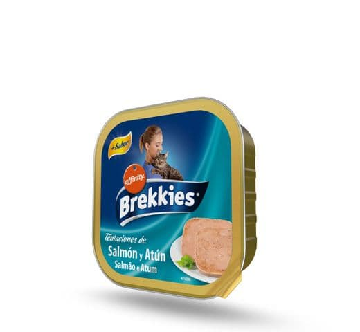 Aliment humit Brekkies Affinity terrina gat salmó-tonyina 1