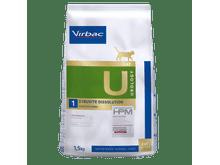 Pinso de dieta veterinària Virbac Hpm gat U1 urology dissolution struvite