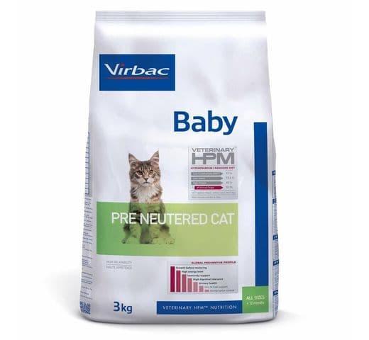 Pinso Virbac Hpm gat baby pre neutered 3kg 1