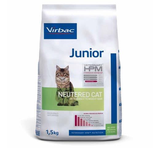 Pinso Virbac Hpm gat junior neutered 1,5kg 1