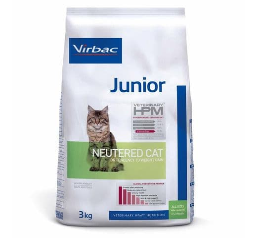 Pinso Virbac Hpm gat junior neutered 3kg 1