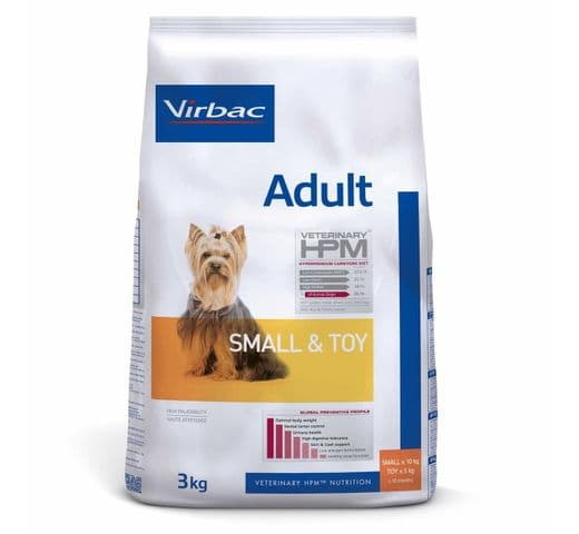 Pinso Virbac Hpm gos small & toy 3kg 1