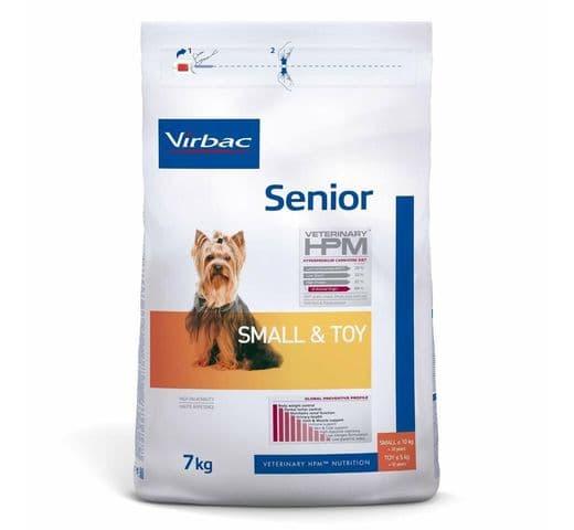 Pinso Virbac Hpm gos senior small & toy 7kg 1