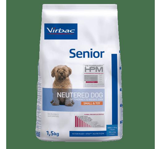 Pinso Virbac Hpm gos senior neutered small & toy 1