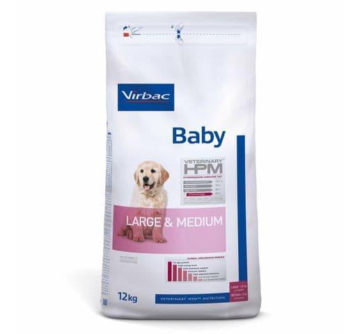 Pinso Virbac Hpm gos baby large & medium 12kg 1