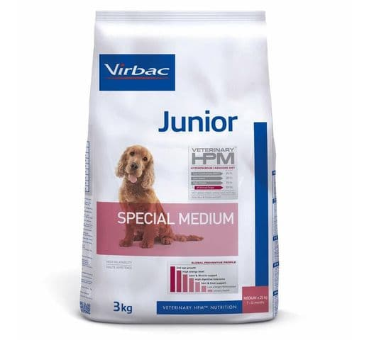 Pinso Virbac Hpm gos junior special medium 3kg 1