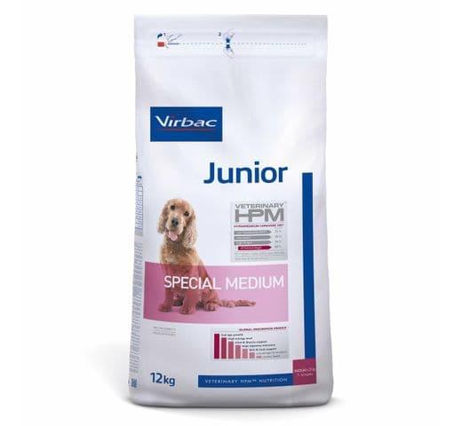 Pinso Virbac Hpm gos junior special medium 12kg 1