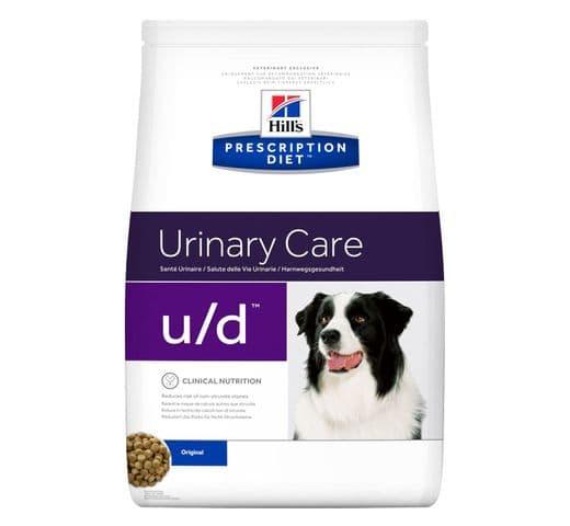 Pinso de dieta veterinària Hills gos u/d urinary care 1