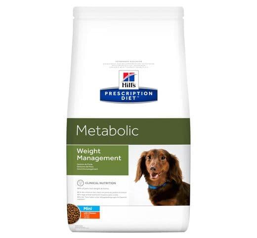 Pinso de dieta veterinària Hills gos metabolic pollastre mini 1