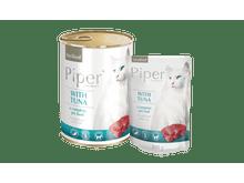 Aliment humit Piper per gats esterilitzats amb tonyina